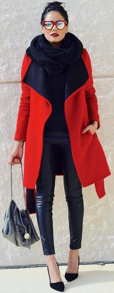 Modna rdeča